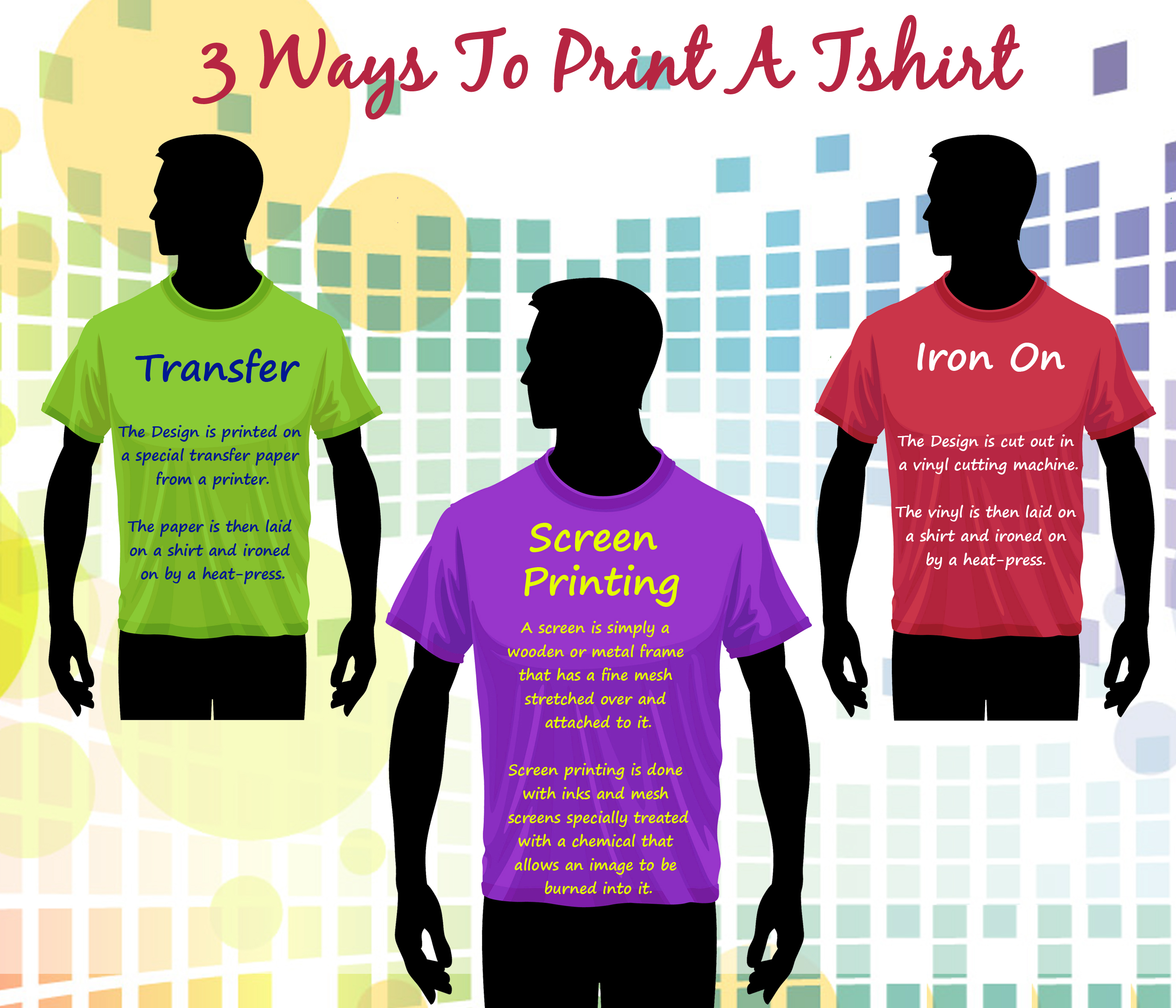 3 Ways To Print A Tshirt