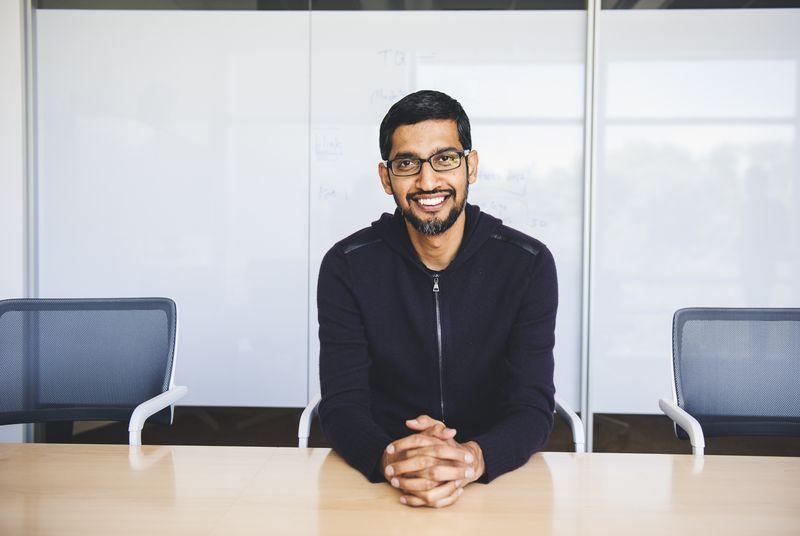 Android Man Sundar Pichai