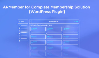 ARMember for Complete Membership Solution [WordPress Plugin]