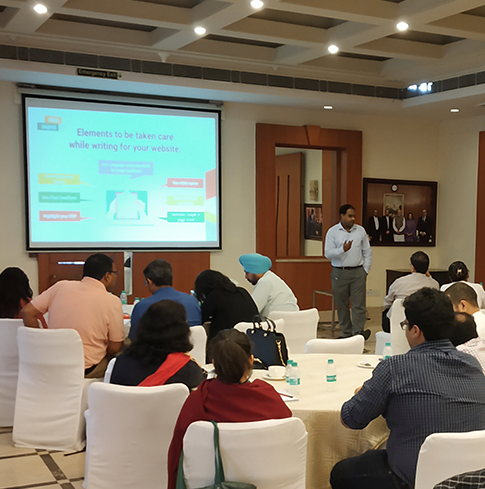 Narendra Digital Marketing Training Session at FICCI Bhopal